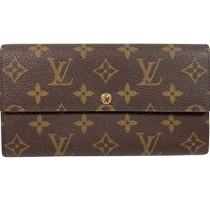 Louis Vuitton Monogram Sarah Wallet (Old Model)